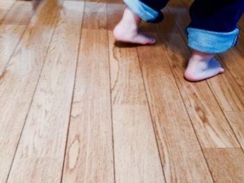 床がフカフカする 一部補修(90×90cm以内)